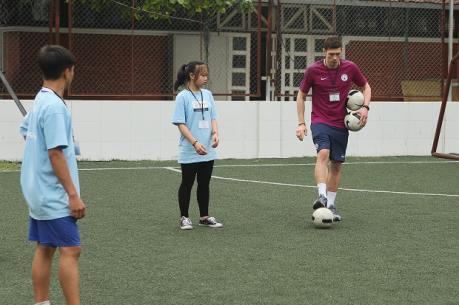 """SHB và Manchester City hợp tác thực hiện chương trình """"Nhà lãnh đạo trẻ"""""""