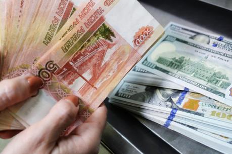 Đồng ruble Nga rớt xuống mức thấp nhất kể từ tháng 12/2016