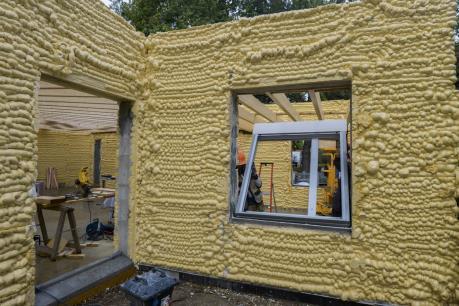 Pháp ra mắt căn hộ đầu tiên xây dựng bằng công nghệ in 3D