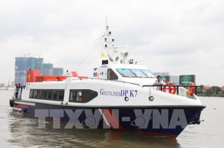 Thành phố Hồ Chí Minh khai thác trở lại tuyến tàu cao tốc đi Cần Giờ