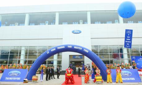 Ford Việt Nam mở rộng hoạt động tại Thái Nguyên và Đồng Nai