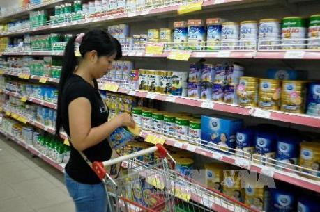 Hàng loạt sữa bột trẻ em tăng giá