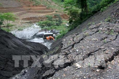 Thái Nguyên: Cảnh báo nguy cơ sạt lở trên tuyến Quốc lộ 3C qua huyện Định Hóa
