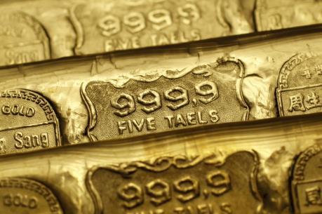 Giá vàng châu Á vẫn ở mức cao trên 1.336 USD/ounce