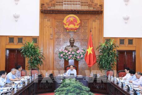 Thủ tướng Chính phủ Nguyễn Xuân Phúc chủ trì họp về hợp tác thương mại Việt Nam – EU