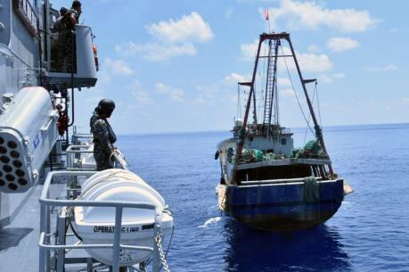 Indonesia bắt giữ hàng chục tàu đánh bắt cá trái phép