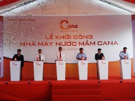 Khởi công dự án nước mắm Ca Na có quy mô lớn nhất tại Ninh Thuận