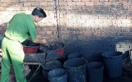 """Phát hiện cơ sở chế biến cà phê """"bẩn"""" ở Đắk Nông"""