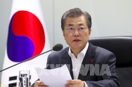 Tổng thống Hàn Quốc nhấn mạnh theo đuổi hiệp ước hòa bình với Triều Tiên