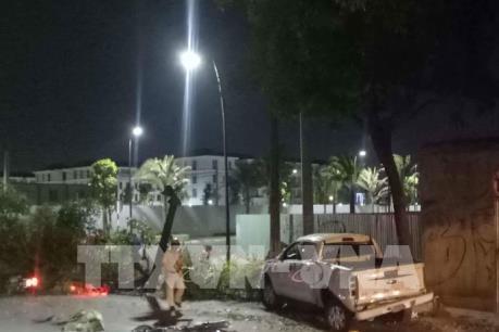 Thành phố Hồ Chí Minh: Xe bán tải đâm hàng loạt xe máy, nhiều người thương vong