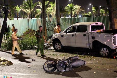 Gây tai nạn giao thông do đạp nhầm chân ga