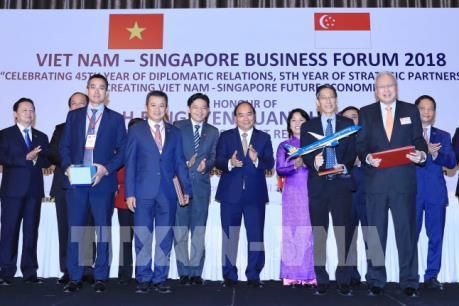 Vietnam Airlines và ST Aerospace lập liên doanh bảo dưỡng, sửa chữa máy bay