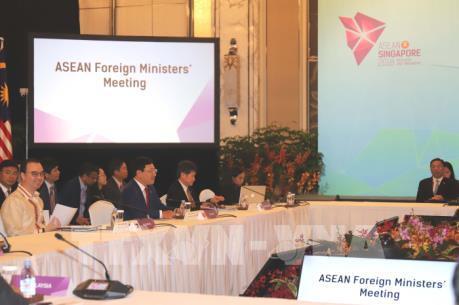 Việt Nam tham dự Hội nghị Bộ trưởng Ngoại giao ASEAN