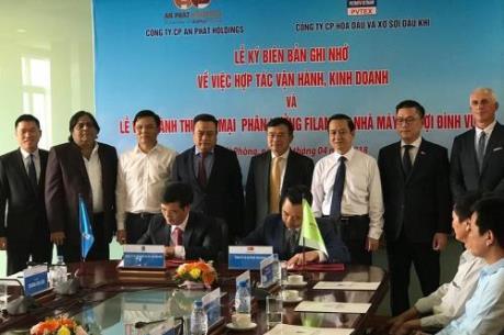 PVTEX và APH hợp tác sản xuất và vận hành Nhà máy xơ sợi Đình Vũ