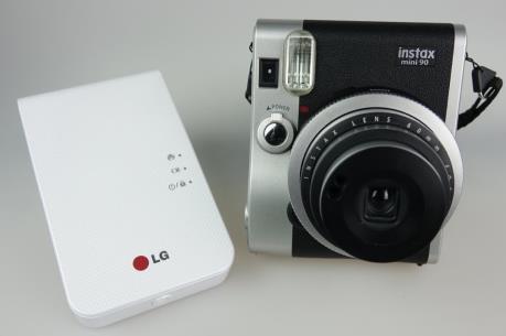 LG tung ra thị trường loại máy ảnh chụp lấy ngay mới