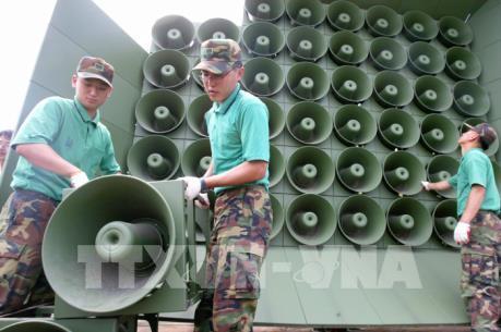 Triều Tiên và Hàn Quốc bắt đầu gỡ bỏ loa phóng thanh tại khu vực biên giới