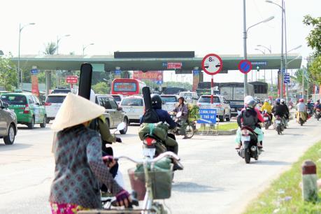 BOT Rạch Miễu xả trạm giảm ùn tắc giao thông