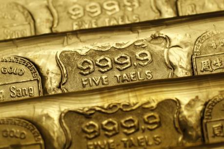 """Giá vàng thế giới chạm """"đáy"""" của bốn tháng"""