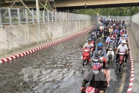 Sự cố ngập hầm đường chui cầu Bình Triệu do mất điện