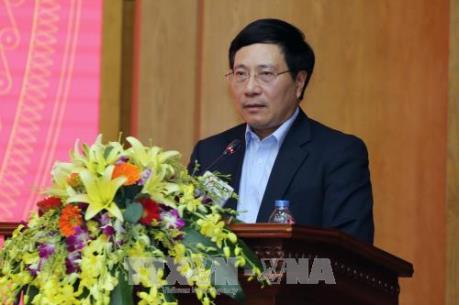 Phó Thủ tướng Phạm Bình Minh họp về các dự án sử dụng vốn vay của WB và ADB