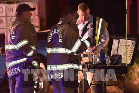Ít nhất 4 cảnh sát bị thương trong vụ nổ tại bang Connecticut, Mỹ