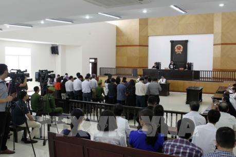 Xét xử phúc thẩm vụ án Hà Văn Thắm và đồng phạm