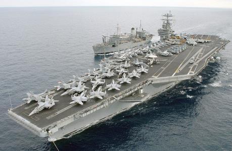 Hải quân Mỹ không kích các mục tiêu IS tại Syria