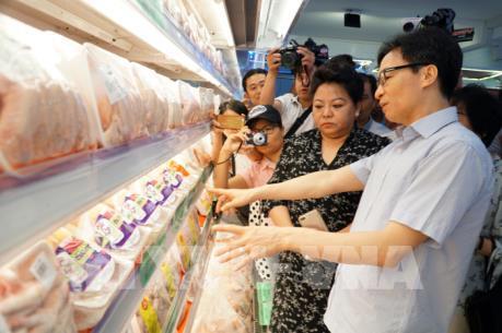 Các doanh nghiệp phải liên kết với nông dân để tạo chuỗi sản xuất thực phẩm an toàn