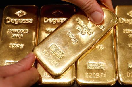 Thị trường vàng khởi sắc trong phiên đầu tuần trên thị trường châu Á