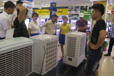 Nhiều khuyến mãi hấp dẫn cho sản phẩm giải nhiệt