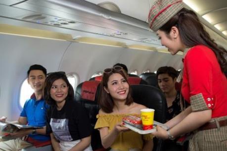 Vietjet Air ưu đãi lớn nhất trong năm với 2 triệu vé giá từ 0 đồng