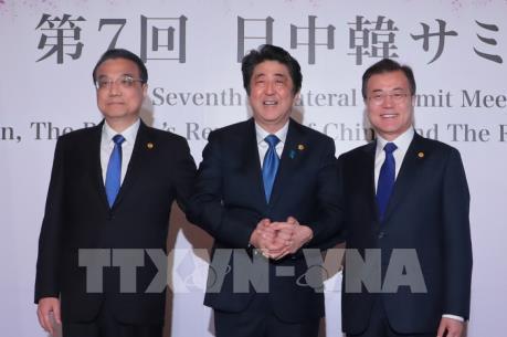 Nhật Bản, Trung Quốc, Hàn Quốc bắt đầu tiến hành hội nghị thượng đỉnh
