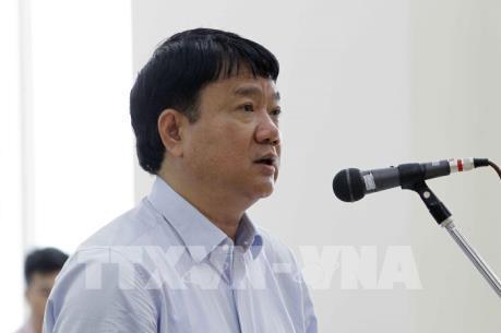 Xét xử phúc thẩm vụ án tại PVC: Xét hỏi nội dung kháng cáo của bị cáo Đinh La Thăng