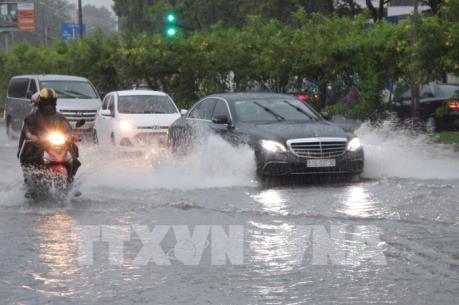 Mùa mưa ở Tp Hồ Chí Minh và nỗi lo ngập nước