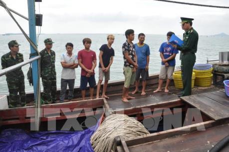 Quảng Ninh thu giữ, tiêu huỷ 300 bộ lồng bát quái khai thác thủy sản trái phép