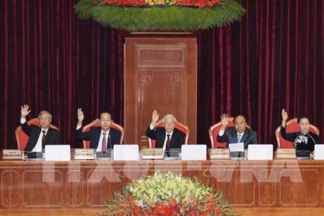 Bế mạc Hội nghị lần thứ bảy Ban Chấp hành Trung ương Đảng khóa XII