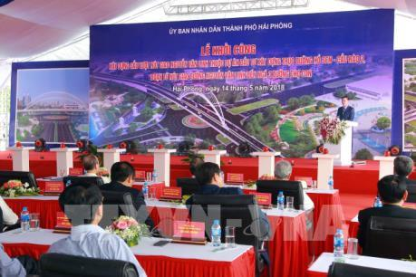 """Hải Phòng: Sẽ làm """"thần tốc"""" cầu vượt nút giao Nguyễn Văn Linh"""