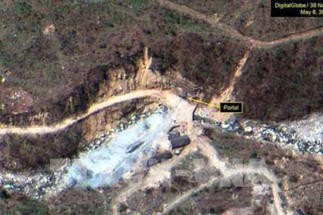 Trang mạng 38 North: Triều Tiên bắt đầu dỡ bỏ cơ sở hạt nhân Punggye-ri