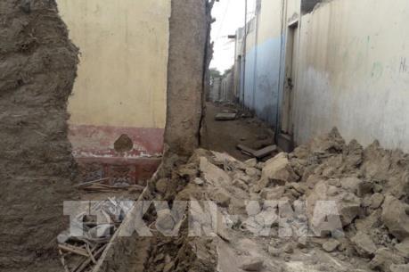 Động đất mạnh 6,1 độ Richter ở miền Đông Indonesia