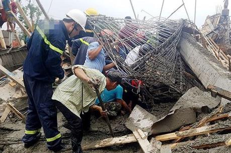 Xác định nguyên nhân vụ sập sàn bê tông làm 4 người thương vong