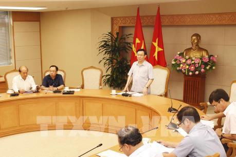 PTT Vương Đình Huệ: Cần công khai tiến độ giải ngân các dự án đầu tư công