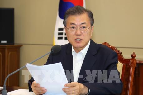 Tổng thống Hàn Quốc tìm cách thu hẹp khoảng cách giữa Mỹ và Triều Tiên