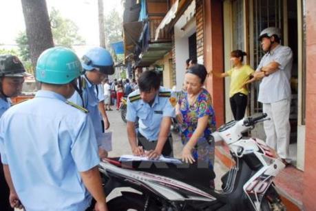 Thành phố Hồ Chí Minh tiếp tục lập lại trật tự đô thị tại khu vực trung tâm Quận 1