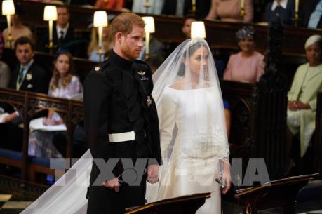 Đám cưới Hoàng gia Anh đặc biệt thu hút trên Twitter