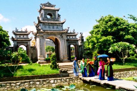 Phát triển du lịch mang thương hiệu và bản sắc văn hóa Phố Hiến