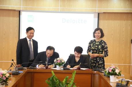 Ủy ban Chứng khoán Nhà nước và Deloitte ký thỏa thuận hợp tác giai đoạn 2018 - 2020