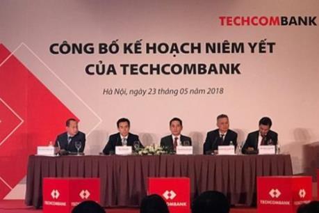 """Techcombank sẽ """"chào sàn"""" HOSE với giá 128.000 đồng/cổ phần"""