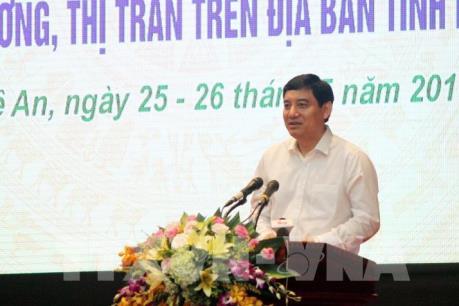 Lần đầu tiên Nghệ An gặp mặt 1.034 lãnh đạo chủ chốt 480 xã, phường, thị trấn