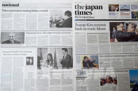 Báo chí Nhật Bản nhấn mạnh ý nghĩa chuyến thăm của Chủ tịch nước Trần Đại Quang