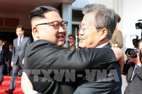 Khả năng diễn ra cuộc gặp thượng đỉnh 3 bên Mỹ-Triều-Hàn tại Singapore